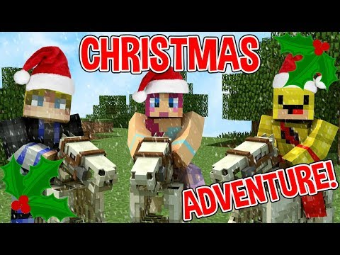 MINECRAFT CHRISTMAS ADVENTure | SPOOKY HORSEY RIDE!
