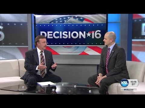 Evan McMullin Discusses Hillary Clinton