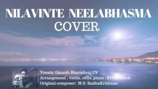 Nilavinte Neelabhasma Cover | Ganesh Bharadwaj | Krish Ashok