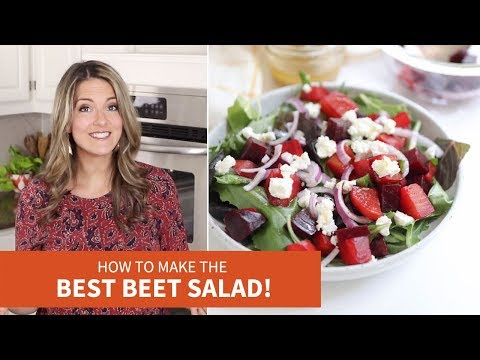 Favorite Beet Salad with Apple Cider Dressing