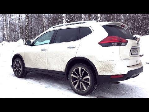 Взял новый Nissan X-Trail - давлю педаль!