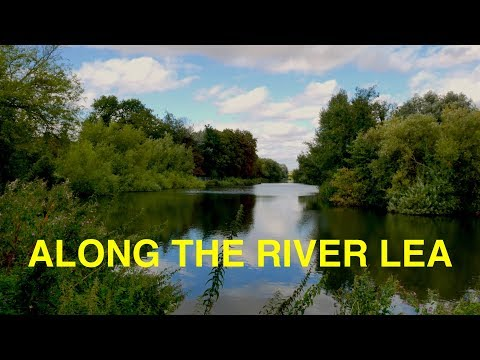 River Lea Walk from Rye House to Hertford (4K)