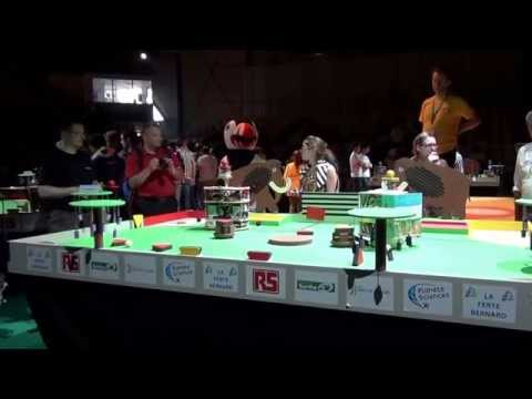 2014 - PM-ROBOTIX vs Lescoules - Match n°4 - Coupe de France de Robotique 2014