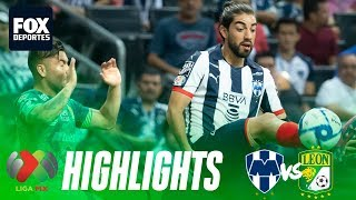 Liga MX | Rayados 3-2 León | HIGHLIGHTS | Jornada 3