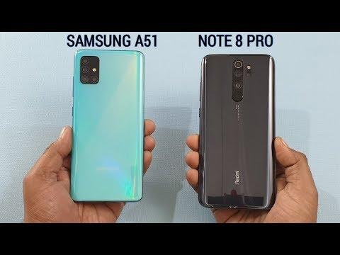Samsung A51 vs Redmi Note 8 Pro | Speed Test | Camera Test