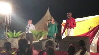 Singing in Kenya, Africa!