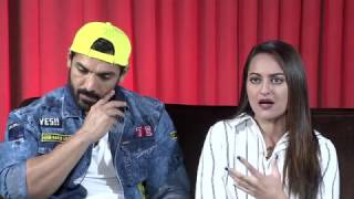 EXCLUSIVE INTERVIEW | JOHN ABRAHAM | SONAKSHI SINHA | TAHIR BHASIN | FORCE 2 | PART 1