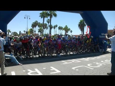 انطلق  منافسات بطولة المغرب في سباق الدراجات الهوائية  بقلعة السراغنة