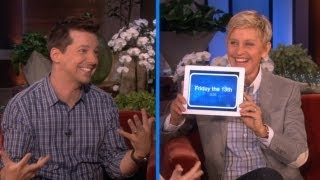 Video Sean Hayes and Ellen Play 'Heads Up!' download MP3, 3GP, MP4, WEBM, AVI, FLV Juni 2018