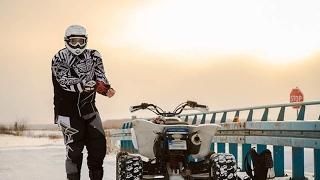 QuadVlog #14 - Jazda po lodzie, Babcia na Quadzie, Ucieczka Raptorem - Yamaha Raptor 700