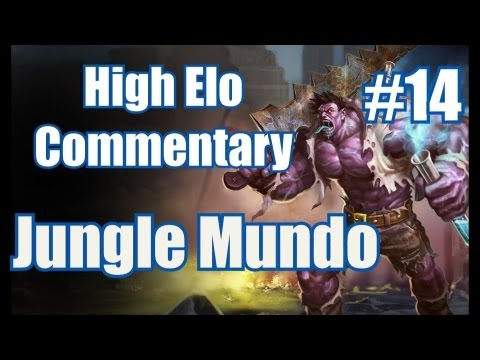 Season 3 | **LIVE** High Elo Ranked Commentary #14 | Mundo Jungle | League of Legends