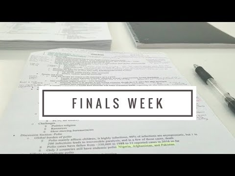 [ANN ARBOR] Finals Week