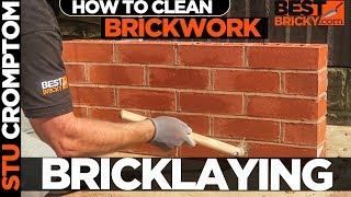 how to acid clean brickwork