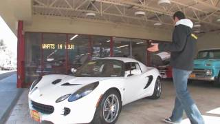 2006 Lotus Elise for sale with test drive, driving sounds, and walk through video