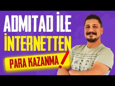 ADMITAD İLE İNTERNETTEN PARA KAZANMA 2020
