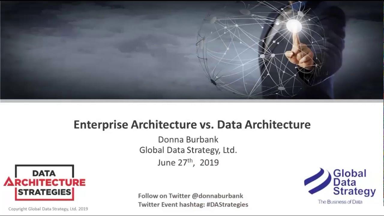 Download DAS Webinar: Enterprise Architecture vs. Data Architecture