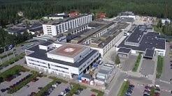 Päijät-Hämeen keskussairaala ilmasta käsin - Central Hospital of Päijät-Häme by Air