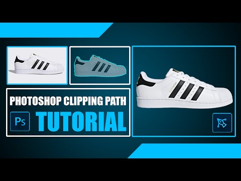 How to Create Clipping Path and Change Background
