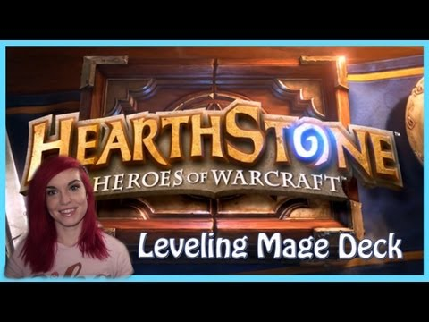 Hearthstone Beta Gameplay: Leveling Mage Deck
