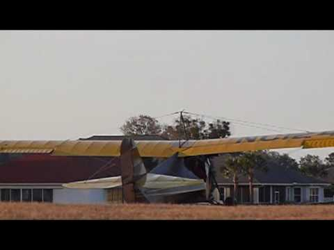 Aeronca C-3 Flight