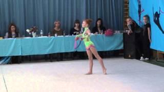 Художественная гимнастика [Гавриленко Даяна 8 лет | Выступление с скакалкой](, 2014-03-15T21:26:58.000Z)