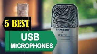 5 Best USB Microphones 2018 | Best USB Microphones Reviews | Top 5 USB Microphones