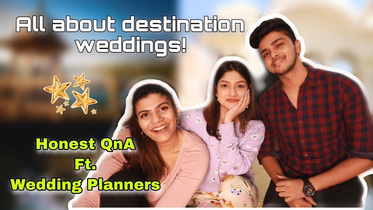 HONEST QnA With Wedding Planners Ft. Shubhtithi Weddings   Manasi Mau