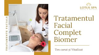 Tratamentul facial complet Biomer