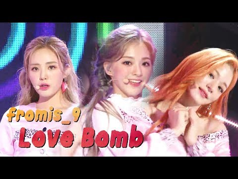 [Comeback Stage] Fromis_9 - LOVE BOMB,  프로미스나인 - LOVE BOMB Show Music Core 20181013