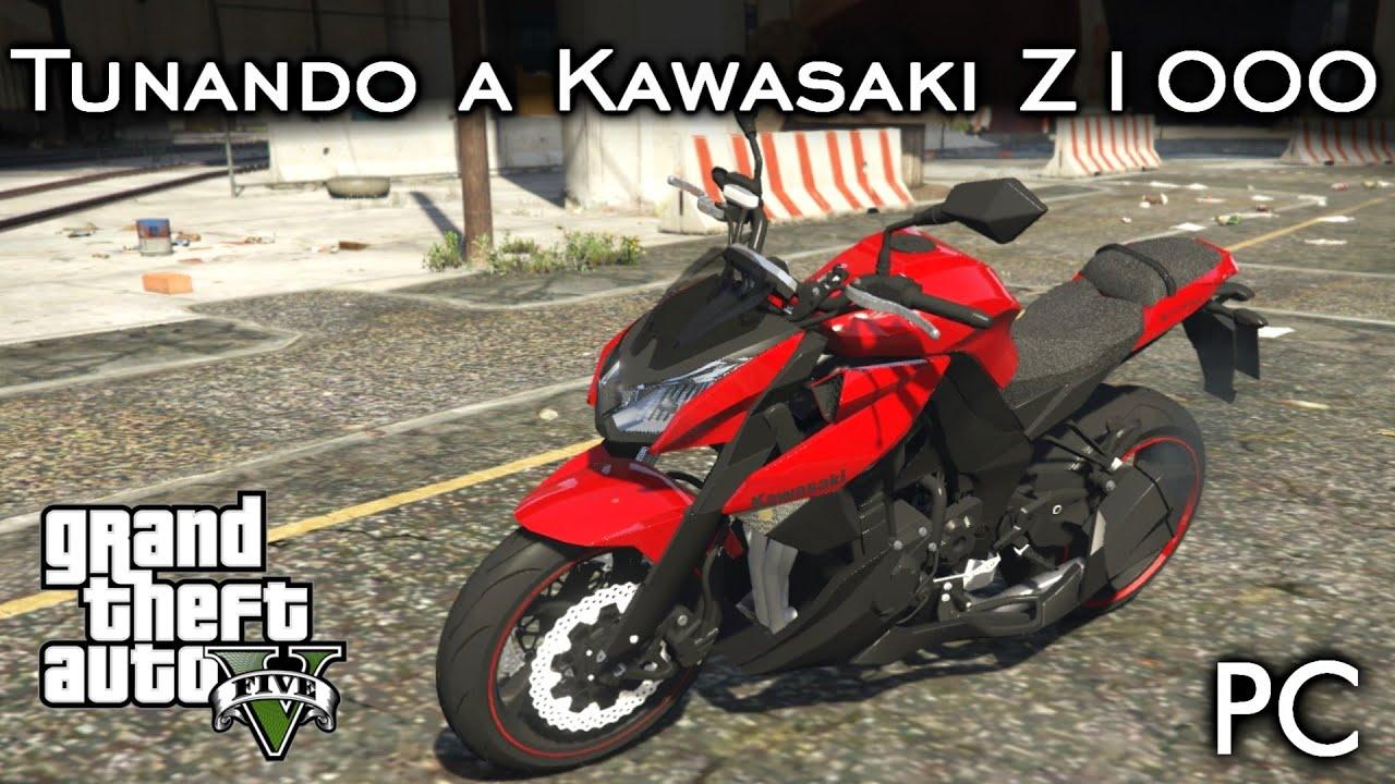 Kawasaki z1000 2010 street fighter custom