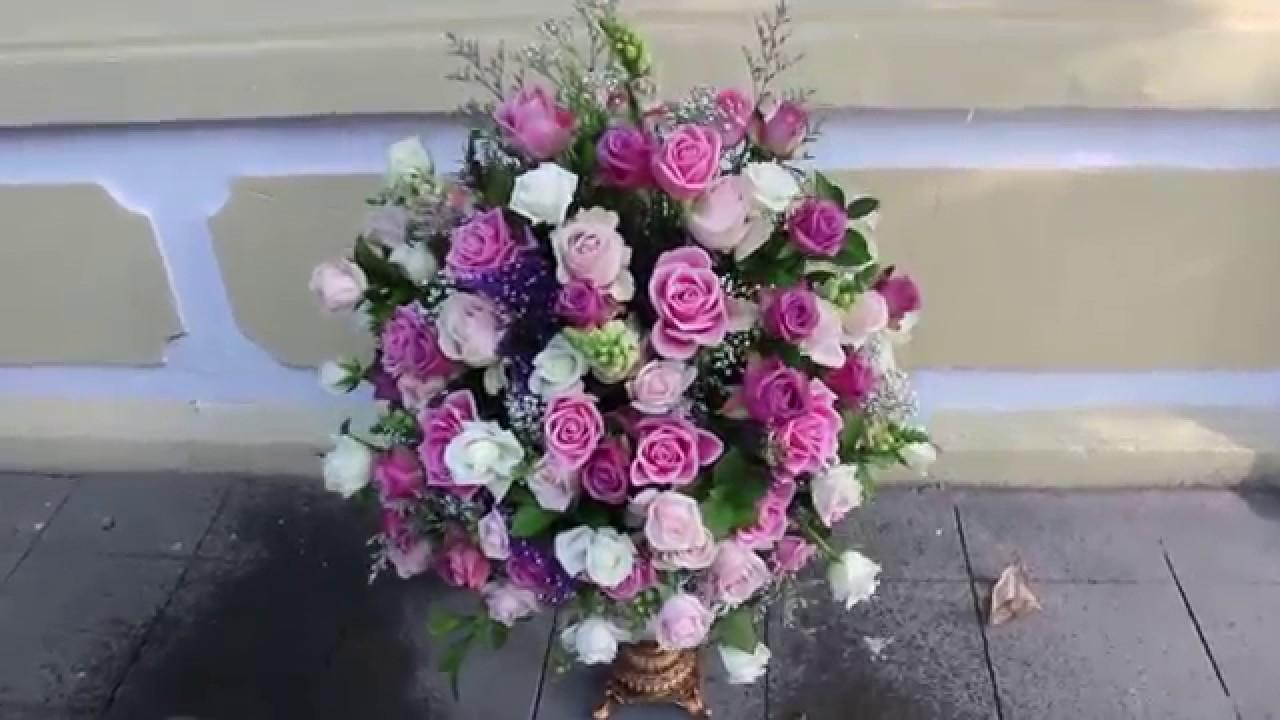 Happy Birthday With Flowers Congratulations In Hanoi Floristhanoi