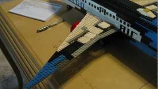 LEGO BOEING 767-200 MODEL(MOC)