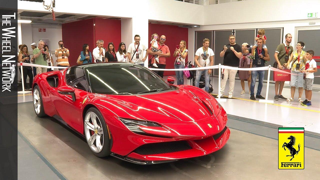 Ferrari Family Day 2019 Carrozzeria Scaglietti And Factory Tour Footage Youtube