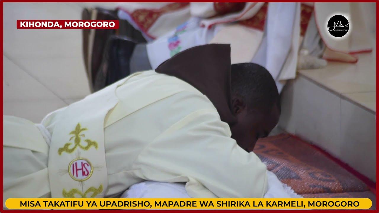 Hivi Ndivyo Askofu Mstaafu Telesphore Mkude Alivyotoa Daraja ya Upadre Huko Morogoro,Tumepata Kuhani
