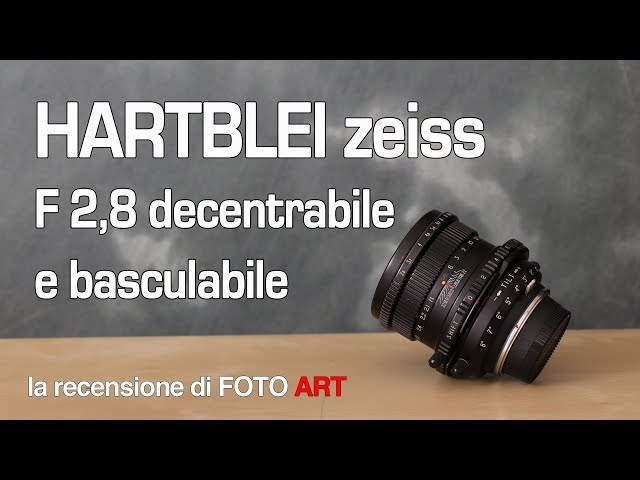 Hartblei zeiss 80mm f 2,8 decentrabile basculabile recensione e test