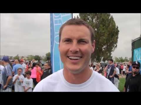 Philip Rivers on his 2012 5K, LeRon McClain & Charlie Whitehurst & Rivers of Hope