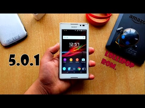Android 5.0.1 on Sony Xperia C..(2015).!