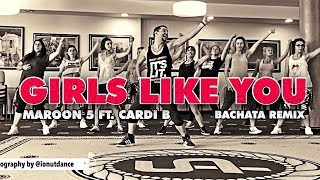 Girls Like You - Maroon 5 ft Cardi B | Bachata Remix | Zumba Fitness Choreo by ionut iordache
