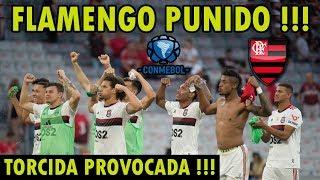 FLAMENGO PUNIDO PELA CONMEBOL NOVAMENTE! FALTA DE RESPEITO COM A TORCIDA DO MENGÃO! PRÉ JOGO E+