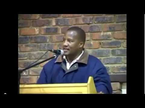 The Young Lion attending to Jackson Mthembu
