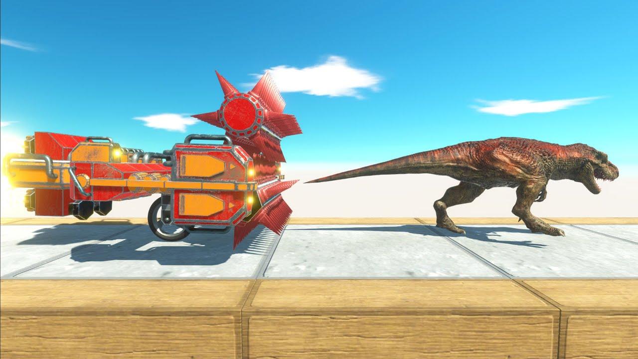 Run Away Crusher Machine - Animal Revolt Battle Simulator