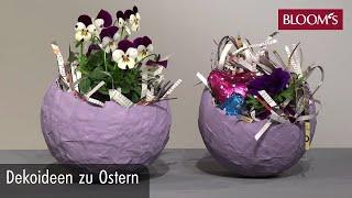 Dekoideen zu Ostern | DIY Osterdeko | easter decoration | BLOOM's Floristik