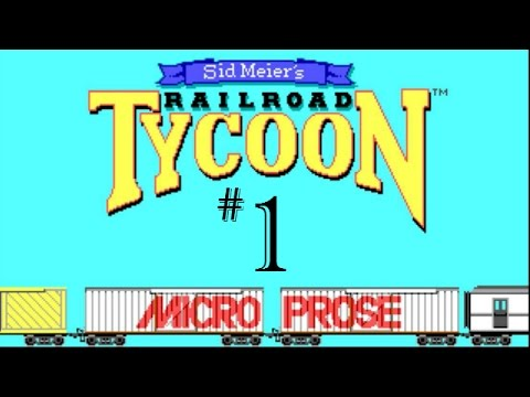 Let's Play The Original Railroad Tycoon 1 | Part 1 |