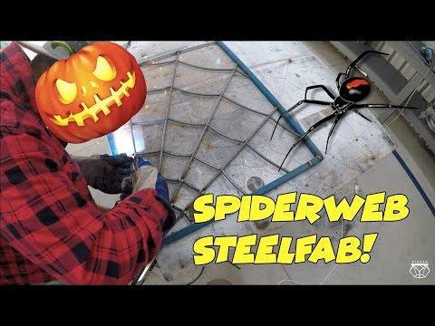 Spiderweb Window Security Metal Art Fabrication