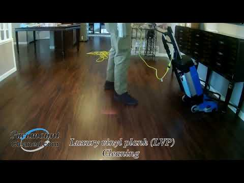 LVP Cleaning by Paramount Cleaned Floors and More