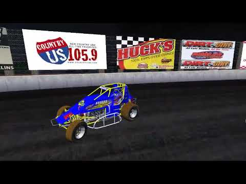 RSR eSports 410 Non Wing Sprint Cars @ Farmer City Raceway