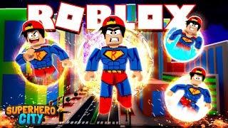 ROBLOX - SUPERHERO CITY EP. #2, NEW POWERS!!!