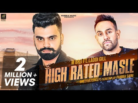 High Rated Masle | M Brij | Laddi Gill | Gill Raunta | Latest Punjabi Song 2018 | Humble Music
