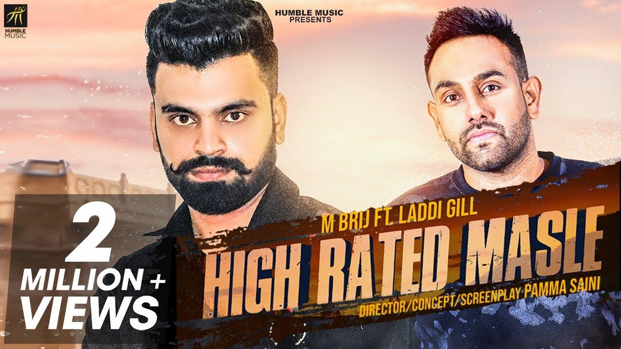 high-rated-masle-m-brij-laddi-gill-gill-raunta-latest-punjabi-song-2018-humble-music