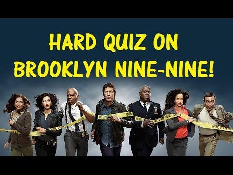 Hard Trivia Quiz on Brooklyn Nine-Nine! - Testing Your Neurons